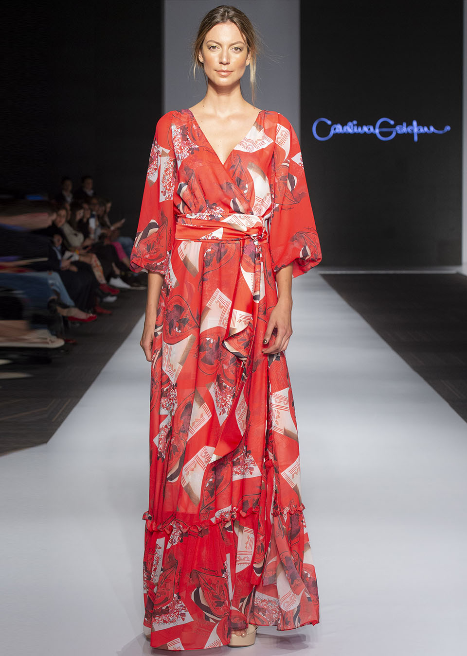 Pasarela Carolina Estefan, Bfw 2018. Abril 25 de 2018.